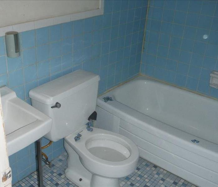 Filthy Bathroom After