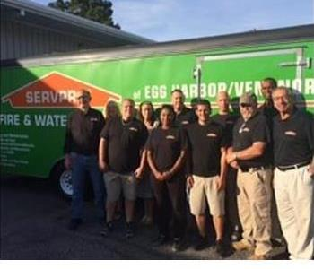 The crew od SERVPRO Williamstown/Berlin